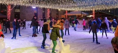 Bocholt on Ice. Foto: Stadtmarketing